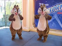 chip and dale cartoon